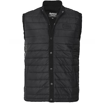 Barbour International Knitted Baffle Quilt Gilet
