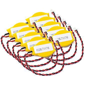 10 piezas de baterías CMOS para IBM LENOVO T420 X220 T410 W510 W700 X31 02K7078