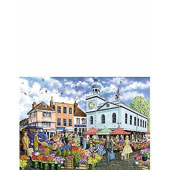 Pory roku w wiosce 4 x 1000 Piece Jigsaw