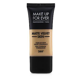 Matte velvet skin full coverage foundation # y335 (areia escura) 238961 30ml/1oz