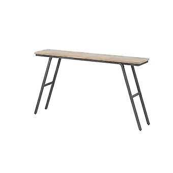 Light & Living Console 140x30x79cm Macas Weathered Wood-Antique Grey