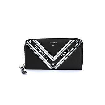 Givenchy Bb60bpb0th004 Femmes-apos;s Portefeuille en cuir noir