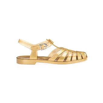 Céline 337867000c35or Women's Gold Pvc Sandalen