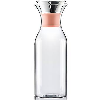 Eva Solo Lodówka Carafe 1 litr Silikoncantaloupe / pomarańczowy