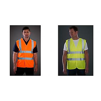 Grafters Unisex Hi-Visibility Safety Waistcoat