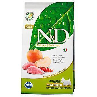Farmina N&D Grain Free Adult Mini Wild Boar and Apple (Dogs , Dog Food , Dry Food)