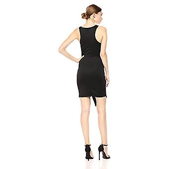 Lyss Loo Women's Rock & Ready Sleeveless Body-Con, Black, Large