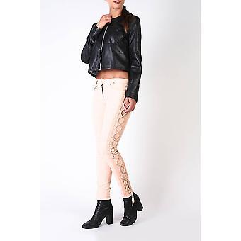 Pinko Original Frauen ganzjährig Jeans - rosa Farbe 30594