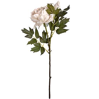 Hill Interiors Artificial Rose Peony Spray