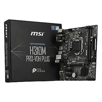 Gaming Motherboard MSI H310M PRO-VDH PLUS mATX LGA1151