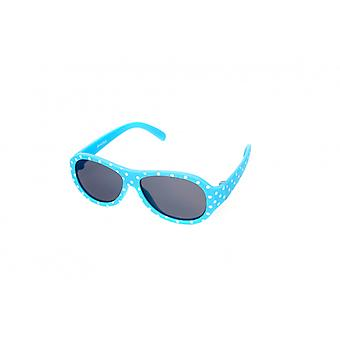 Sunglasses Kids Girls Light Blue/White (K-121)