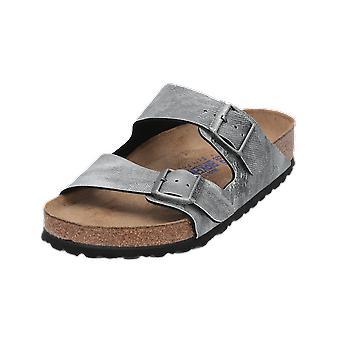 Birkenstock Arizona BS Unisex Sandals Grey Flip-Flops Summer Shoes
