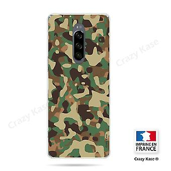 Hull For Sony Xperia 1 Flexible Military Camouflage