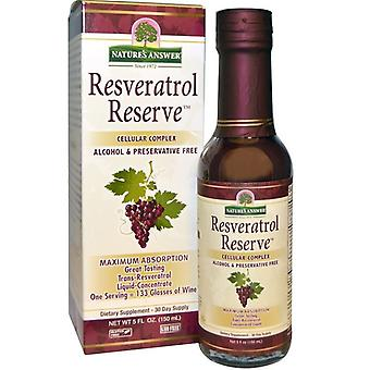 Nature's Answer Resveratrol Reserve Complex 150ml 1489