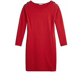 Sandwich Clothing Red Soft Jersey Dress