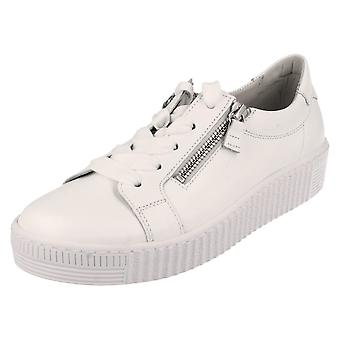 Ladies Gabor Lace Up Trainers 43334