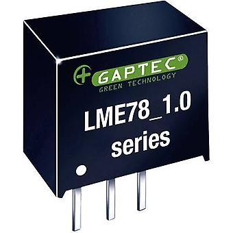 Gaptec LME78_05-1.0 DC/DC converter (print) 24 V DC 5 V DC 1000 mA 5 W Nr. van de uitgangen: 1 x