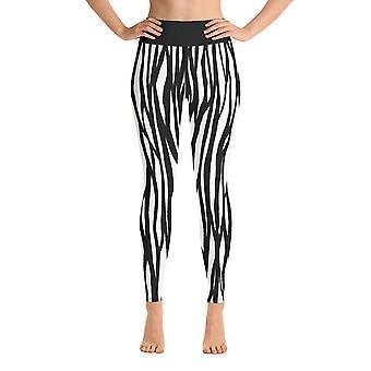 Workout Leggings | Yoga Leggings | Fancy | Zebra Print