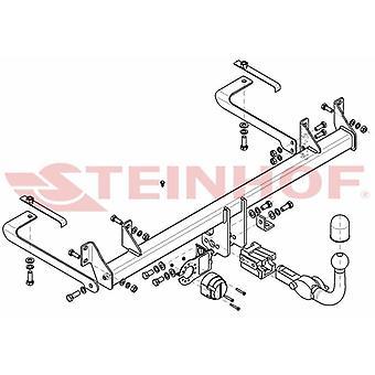 Steinhof Automatyczny odłączany pasek holowniczy (poziomy) dla Fiat PANDA 2003-2011