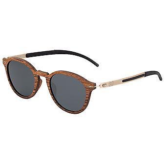 Earth Wood Sabal Polarized Sunglasses - Rosewood/Black