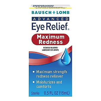Bausch + lomb advanced eye relief drops, redness instant relief, 0.5 oz