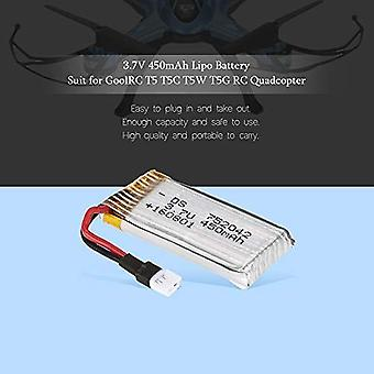 YUNIQUE Italia ® 1 Pezzo GoolRC T5 3.7V 450mAh Lipo Batteria per GoolRC T5 T5C T5W T5G RC Quadcopter