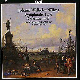J.W. Wilms - Johann Wilhelm Wilms: Symphonies Nos. 1 & 4; Overture in D [SACD] USA import