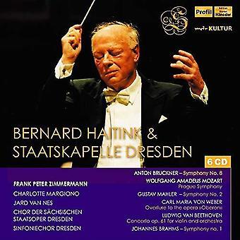 Beethoven / Staatskapelle Dresden / Zimmermann - Bernhard Haitink & Staatskapelle Dresden [CD] USA import