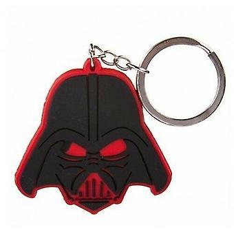 Star Wars Darth Vader LED Keyring Torch Light Sleutelhanger Dark Side Zwart Rood