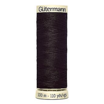 Gutermann Naai-alle 100% polyester draad 100m hand en machine kleurcode - 682