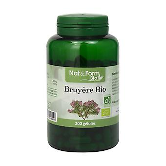 Organic heather 200 vegetable capsules