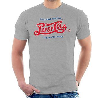 Pepsi Cola 1943 Distressed logo pour uw eigen mannen T-shirt