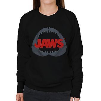 Jaws Shark Teeth Women's Sweatshirt