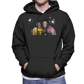 TV Times Boy George And Jon Moss Sparklers Men's Hooded Sweatshirt