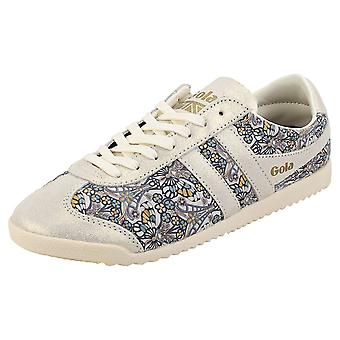 Gola Bullet Liberty Womens Mode utbildare i Off White Multicolour