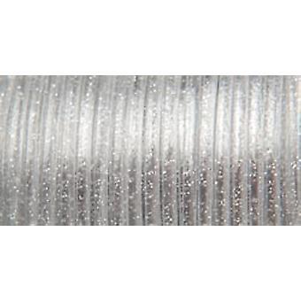 "Rexlace Plastic Lacing .0938""X100yd-Silver Sparkle"