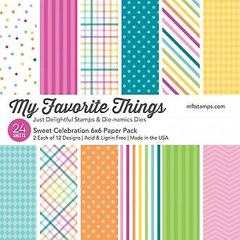 My Favorite Things Sweet Celebration 6x6 Inch Paper Pack