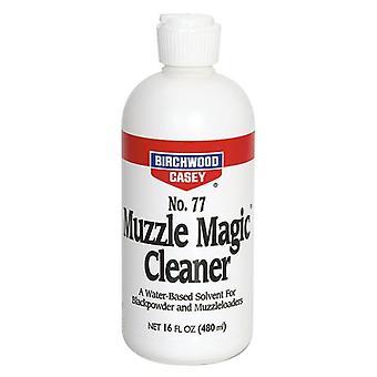 Birchwood Casey Muzzle Magic 16oz bottle - muzzleloader blackpowder cleaner