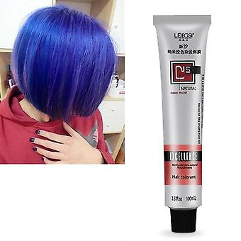 Fashion Hair Cream Unisex Smoky Gray, punk Style Light Grey, Silver Permanent