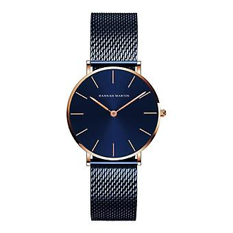Hannah Martin Ladies Watch - Anologue Movement Mesh Strap for Women - CL36-WFL