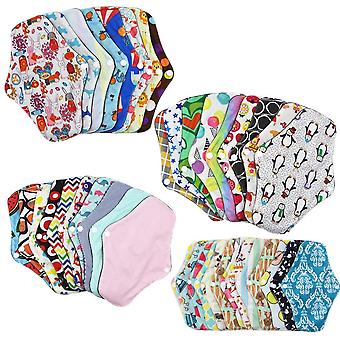 Bamboo Cotton Absorbent Menstrual Cloth Pads