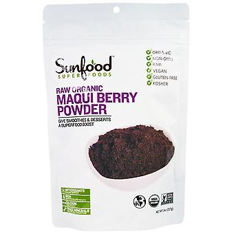 Sunfood, Superfoods, Raw Organic Maqui Berry Powder, 8 oz (227 g)