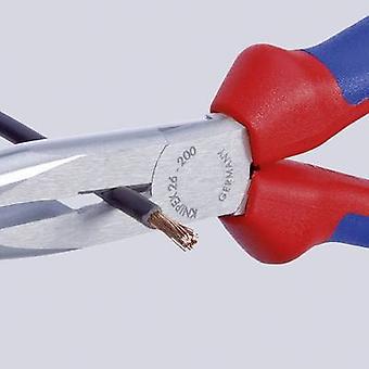 Knipex 26 12 200 Workshop Rundnasenzange Gerade 200 mm