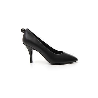 Salvatore Ferragamo 01q862726406 Women's Black Leather Pumps