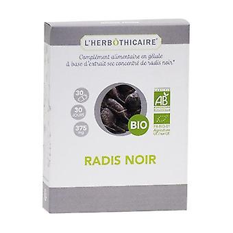 Organic black radish 30 capsules of 375mg