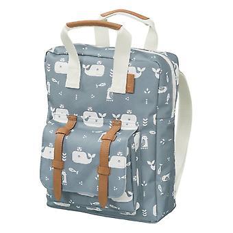 Fresk Backpack Whale Blue Fog