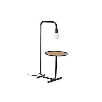 Faro Guest - Lampa podłogowa Czarna 1x E27