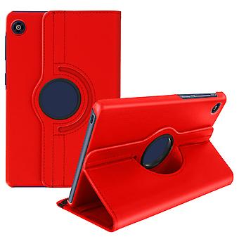 Huawei MatePad T8 360 ° Rotating Stand Case - Red