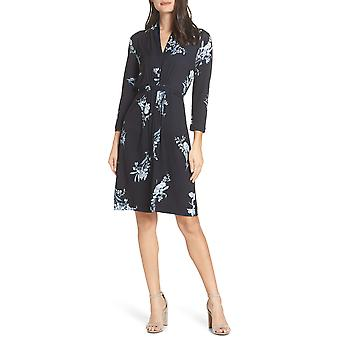 French Connection | Floral-Print V-Neck Dress