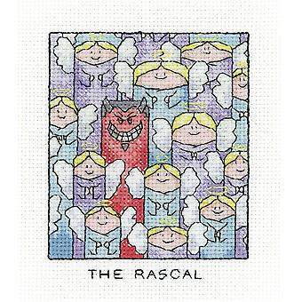 Heritage Crafts Simply Heritage Cross Stitch Kit - The Rascal